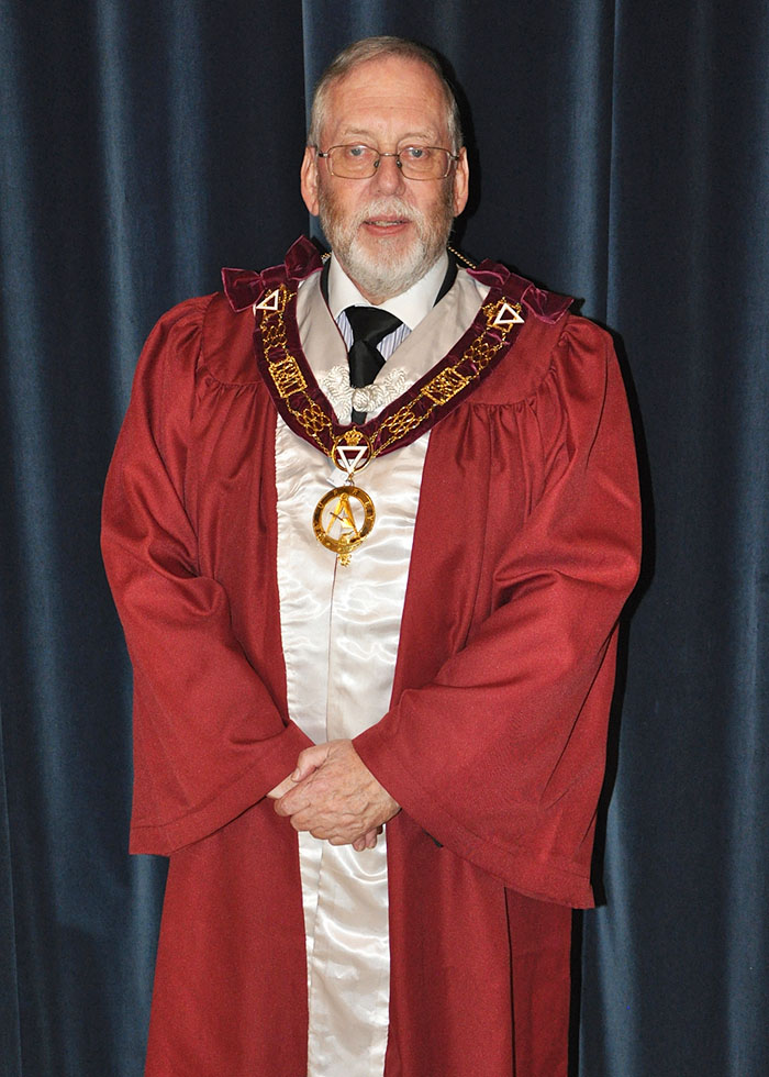 R.Ill. Comp. David John Blackburn - District Grand Master
