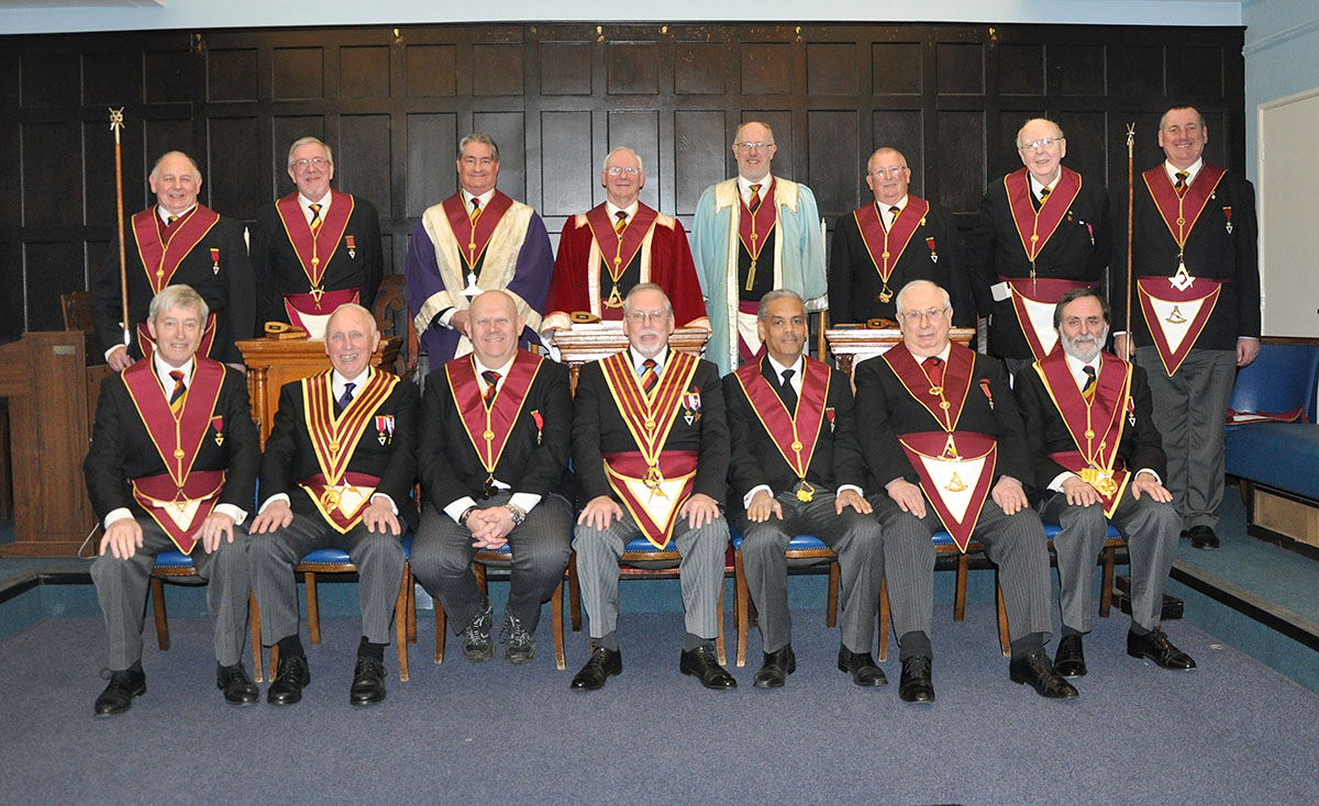 The Installation Meeting of the Pride of Surrey Council